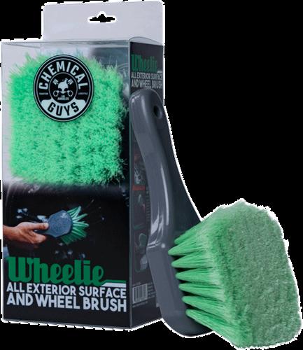 Chemical Guys Wheelie Exterior Surface & Wheel Brush