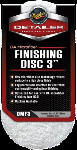 """Meguiar's DA Microfiber Finishing Disc 3"""" 2 pack"""