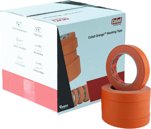 Colad Orange Masking Tape 19mm Doos