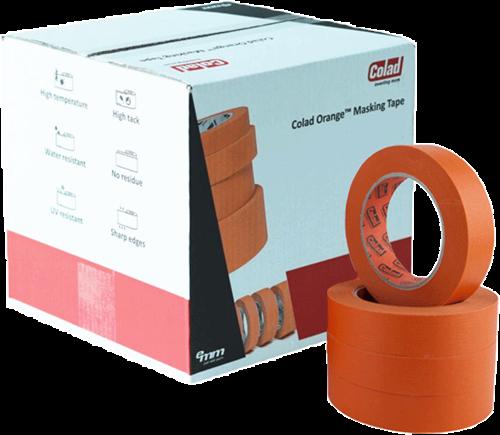 Colad Orange Masking Tape 25mm Doos