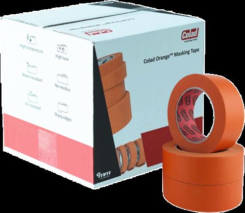 Colad Orange Masking Tape 38mm Doos
