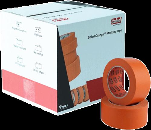 Colad Orange Masking Tape 50mm Doos