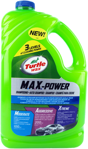 Turtle Wax M.A.X. Power Car Wash 4L