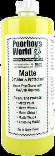 Poorboy's World Matte Detailer & Protectant 946ml