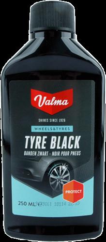 Valma Tyre Black 250ml