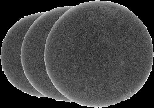 Bigboi 3 pack foam filters