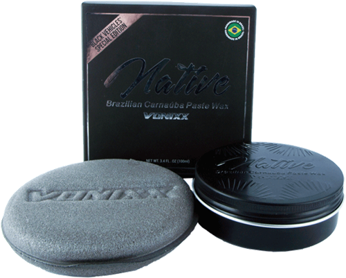 Vonixx Native Carnauba Black Paste Wax - 100ml