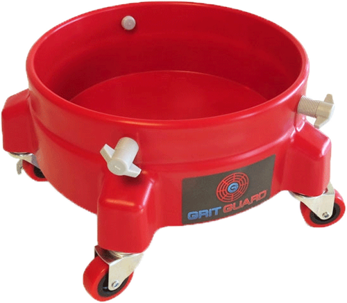 Grit Guard Bucket Dolly Red