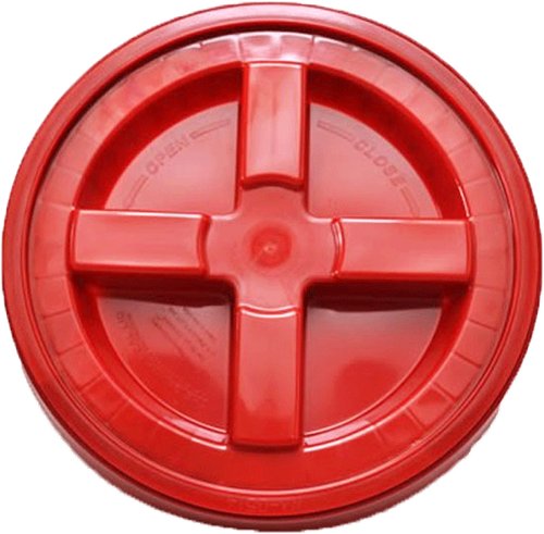 Grit Guard Gamma Seal Lid Red