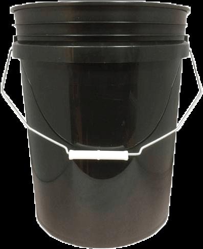 Grit Guard Bucket Black