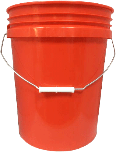 Grit Guard Bucket Red