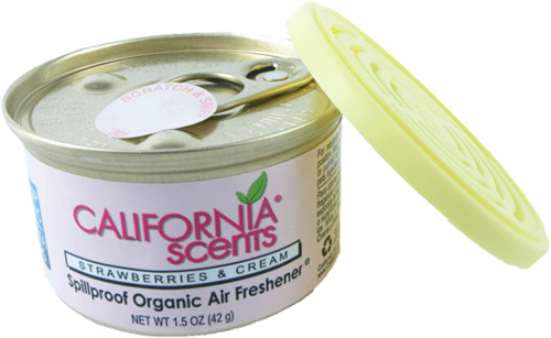 California Scents Strawberries and Cream