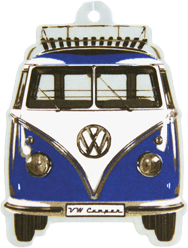 VW T1 Bus Airfreshener Ocean / Blue