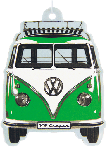 VW T1 Bus Airfreshener Apple / Gree