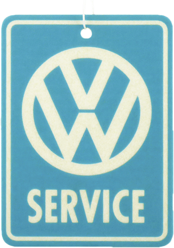VW Service Airfreshener New Car