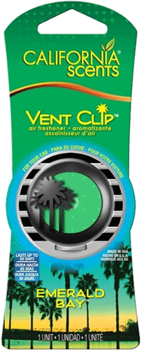 California Scents Vent Clip Emerald bay