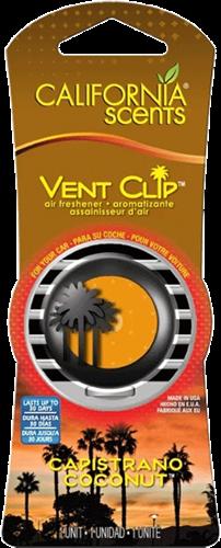 California Scents Vent Clip Coconut