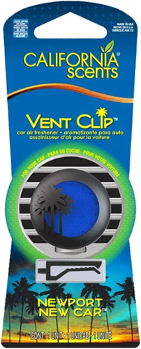 California Scents Vent Clip New Car