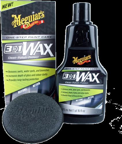 Meguiar's 3 in 1 Wax