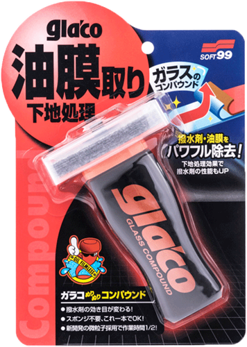 Soft99 Glaco Glass Compound Roll on