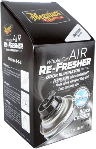 Meguiar's Air Refresher Black Chrome