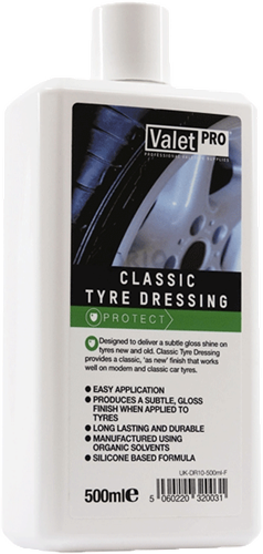 ValetPro Classic Tyre Dressing 500ml