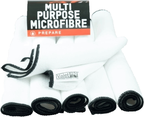 ValetPro Multipurpose Microfibre Cloth (pack of 6)