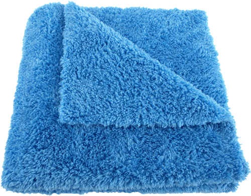 Mike O'Fiber Royal Plush Microfiber Towel Blue