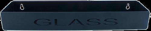 Poka Premium Tray 40cm Glass