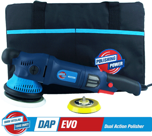 DAP EVO 8mm Dual Action Polisher