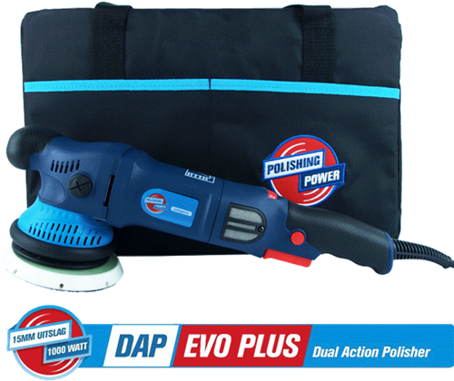 DAP EVO Plus 15mm Dual Action Polisher