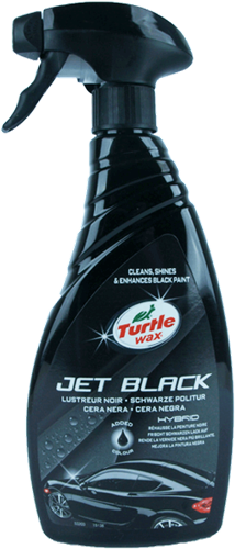 Turtle Wax Hybrid Jet Black Spray Polish