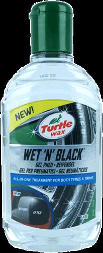 Turtle Wax Wet N Black Tyre & Trim Gel