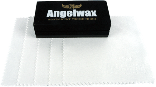 Angelwax Applicator with 5 cloths