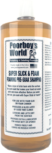 Poorboy's World Super Slick & Foam 946ml