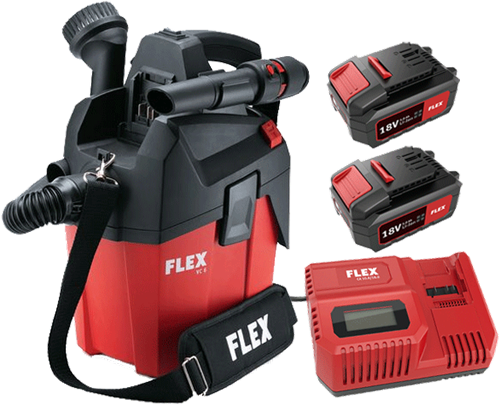 Flex VC 6 L MC Accu Stofzuig Bundel