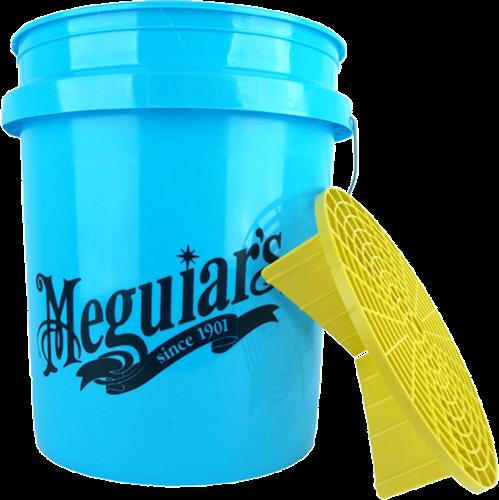Meguiar's Hybrid Ceramic Blue Bucket met Gritguard
