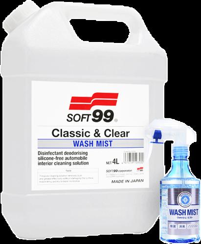 Soft99 Wash Mist 4L + Wash mist 300ml