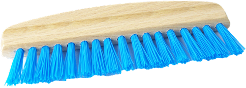 DetailPro Flat Detailing Brush Blue Medium