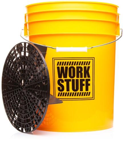 Work Stuff Bucket Wash + Grit Guard