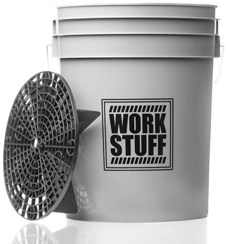 Work Stuff Bucket Wheels + Grit Guard