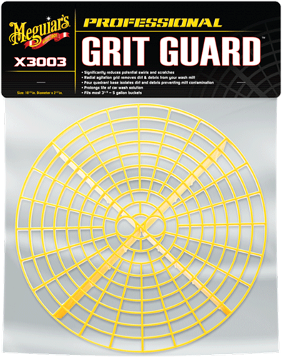 Meguiar's Grit Guard yellow