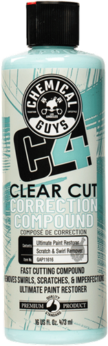 Chemical Guys C4 Clear Cut Correction Compound 473ml