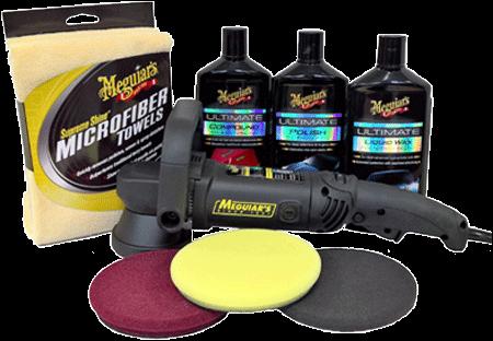 Meguiar's MT310 Ultimate Dual Action Polisher Kit