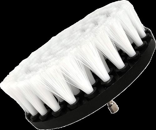 DetailPro Carpet Brush Fine Ø120mm White