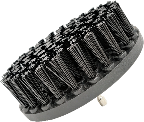 DetailPro Carpet Brush Heavy Ø120mm Black