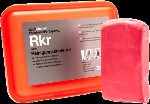Koch Chemie Reinigungsknete rot - Clay Bar Heavy - 200 gram