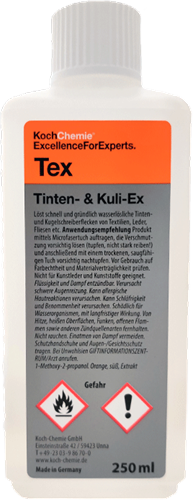 Koch Chemie Tinten- & Kuli-Ex - Tex - 250ml