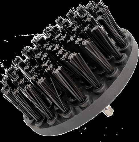 DetailPro Carpet Brush Heavy Ø85mm Black