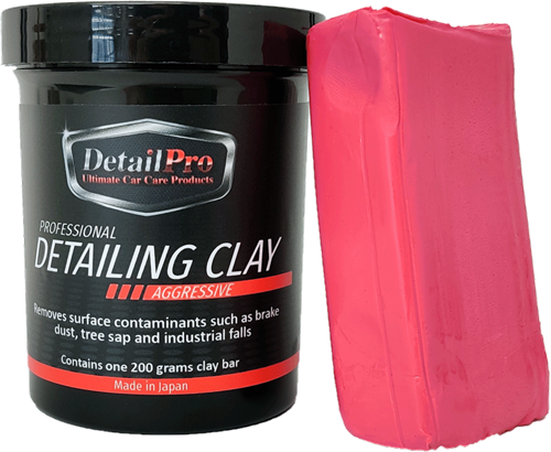 DetailPro Professional Detailing Clay - Aggressive 200gr